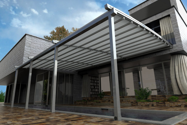 Halo Retractable Pergola